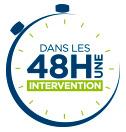 Intervention dans les 48H