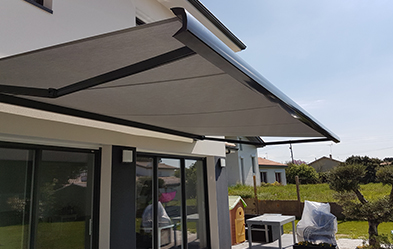 Installation d´un store extérieur par notre intervenant de Chalon sur saone