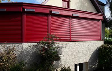 Installation d´un ensemble de volets par notre intervenant de Grand Dijon - Beaune