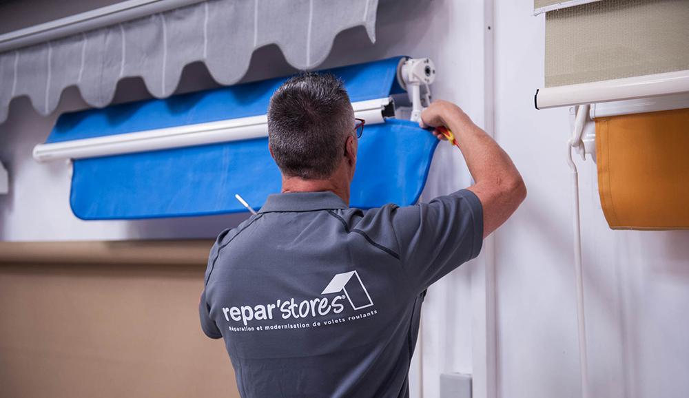 Réparation Stores Et Volets Roulants Sur Mesure Reparstores