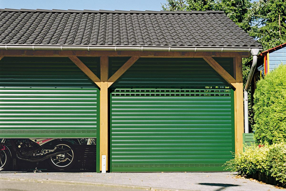 Volet roulant porte de garage baie vitr e ou baie - Porte de garage volet roulant ...