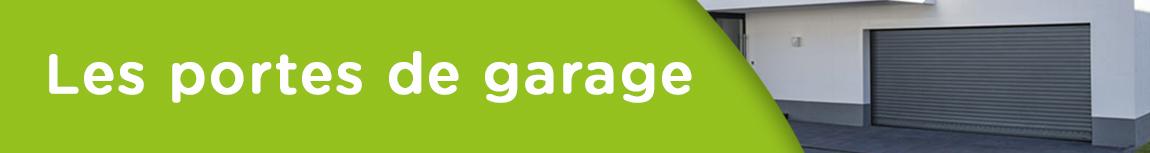 Volets roulants de porte de garage